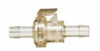 1044100 - Quick-disconnect fittings, Polysulfone fittings, 3/8