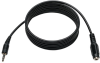 3.5mm Mini Stereo Audio 4 Position TRRS Headset Extension Cable (M/F) 6-ft. -- P318-006-MF - Image