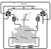 Dual Chamber Valve with Mechanical Check -- S513-AK, S1513-AK