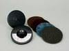 3M Scotch-Brite 9145S Non-Woven Sanding Disc Set - Coarse, Medium, Very Fine, Super Fine Grade(s) Included - 4 1/2 in Diameter Included - 14105 -- 048011-14105 - Image