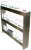 SHELVING 3 TIER STAINLESS -- AX128 - Image