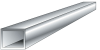 1-1/4 in. x 1-1/4 in. x 0.125 in. Square Hollow Tubing -- 8256851 -- View Larger Image
