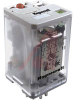 Relay;Octal Relay,8 Pin, PDT,16 Amp Rating, 4 VAC 50,60 Hz,Plug-in socket mount -- 70184889