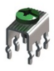 Snap In PC Mount 30Amp-w Screw Assembled -- 8199 -Image