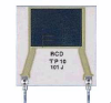 Flat Radial Lead Thick Film Power Film Resistor -- TP Series