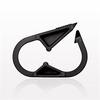Pinch Clamp, Black -- 14102 -Image