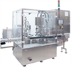 Filling and Closing Machine for Liquid Products -- OPTIMA Flexofill - Image