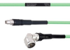 Temperature Conditioned Low Loss SMA Male to RA N Male Cable LL335i Coax in 18 Inch -- FMHR0231-18 -Image