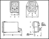 Filtered Snap-In Mount Power Entry Module -- 83F5807