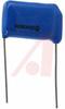 Capacitor, Metallized Polyester;0.1uF;Radial;600VDC;+/-20%;1.080In.L;0.390In.T; -- 70186534