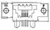 Modular Connectors / Ethernet Connectors -- 5-1761186-1 -Image
