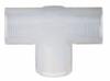 Schott Pipe Tee, Schedule 80, PVC, 1in. NPT(F) -- GO-05994-61