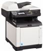 Color Multi Functional Printer - Standard Copy, Print, Scan, and Black & White Fax -- ECOSYS FS-C2626MFP - Image