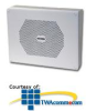 Valcom Vandal-Resistant 8 Inch Talkback Wall Speaker -- V-9871