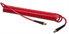 Red Polyurethane Self-Store Tubing & Reinforced Hose -- Series HSC2844