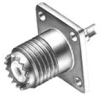 RF Coaxial Panel Mount Connector -- 226601-3