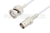 BNC Male to BNC Female Cable 48 Inch Length Using RG188 Coax -- PE3C3453-48 -Image