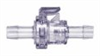 1044200 - Quick-disconnect fittings, Polycarbonate fittings, PP, 1/4