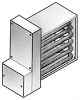 Insert Air Duct Heater -- DIF06x06-01 - Image