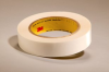 3M™ Double Coated Tape 444 Clear, 0.5 in x 36 yd 3.9 mil, 72 rolls per case -- 444 - Image