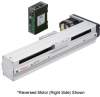 Linear Actuator (Slide) - Reversed Motor (Left Side), X-axis Table with Built-in Controller (Stored Data) -- EAS6LX-D020-ARAKD-3 -Image