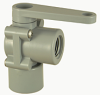Plastic Two Way Right Angle Ball Valve -- 357 Series -- View Larger Image
