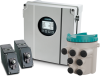 Clamp-On Non-Intrusive Ultrasonic Flowmeter -- SITRANS FS230 -- View Larger Image