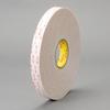 3M VHB™ 25mil Firm White Acrylic Foam -- 4932 -Image