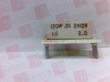 KB ELECTRONICS 9843 ( RESISTOR .01OHMS,PHR, .01 OHMS, 1 HP @ 90 VDC, 2 HP & 180 VDC ) -- View Larger Image