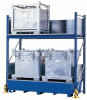 IBC Rack with Spill Containment Sump -- PAK252