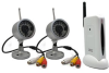 2 Wireless Camera System with FM Reciever