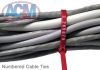 Numbered Cable Ties