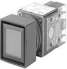 Amber Lens 22.5 mm Square PB -- 800MB-CQB24AAK - Image