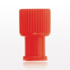 Non-Vented Double Ended Cap, Male/Female, Red -- 65833 -- View Larger Image