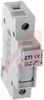 Hldr, Fuse; 26-6 AWG; 81 mm H x 17 mm Wx 64.5 mm D; 32 A; 600 V; Cartridge -- 70037579