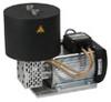 KNF Heat-Resistant Vacuum Pump, Thermostat, SS/PTFE; 1.1 cfm/24