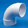 White PVC 1/4 Bend Ell -- 31112