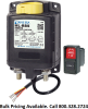 Blue Sea Systems 7700 Remote Battery Switch with Manual Control, 500A, 12V DC