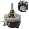 Rotary Potentiometers, Rheostats -- RES10RE-ND -Image