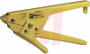 Tool, Cable Tie; Steel Body;use with full line of Panduit ties; Yellow -- 70043979