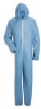Disposable Chemical Coverall,Sky Blue,L -- 34C877