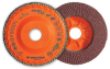Blending Flap Discs for Stainless Steel and Aluminum -- ENDURO-FLEX Stainless™