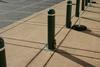 External Padlocking Security Bollard -- IBP10000