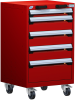 Heavy-Duty Mobile Cabinet, with Partitions -- R5BCD-3401 -- View Larger Image