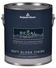 Exterior Paint,Soft Gloss,1 gal,Cos Cob -- 23A208