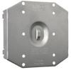 Protection Plate, To protect 2 device opening on round mudring -- 702R