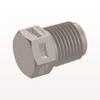 Threaded Plug, Natural -- N4P -Image