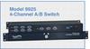 4-Channel DB9/RJ45 Cat5 A/B Switch -- Model 9925 -Image