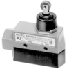 MICRO SWITCH E6/V6 Series Medium-Duty Limit Switches, Top Roller Plunger Actuator, 1NC 1NO SPDT Snap Action, 0.5 in - 14NPT conduit -- BZE6-2RN80 -Image