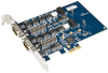 PCI Express 2-Port RS-232, RS-422, RS-485 Isolated Serial Interface -- 7203e